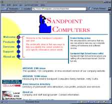 Click to visit Sandpoint Computers